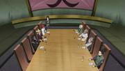 Suna and Konoha meeting