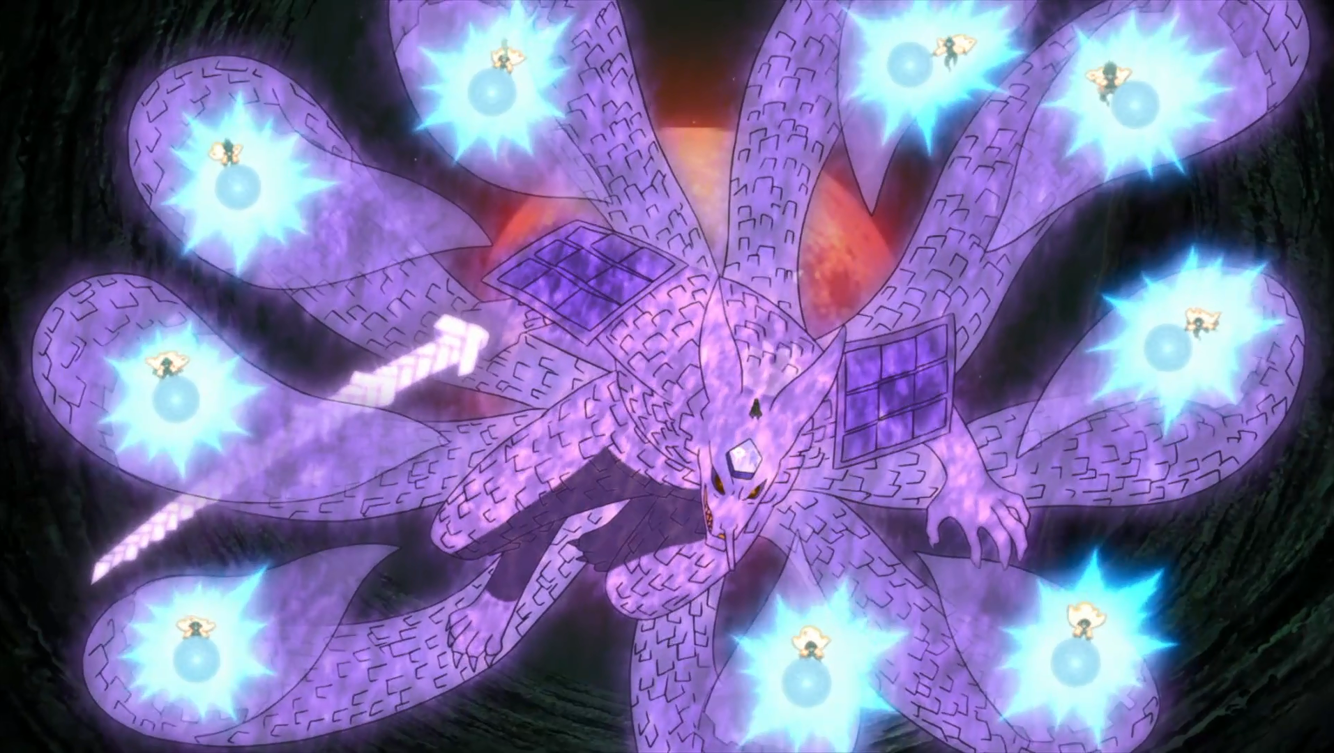 nine tails susanoo wallpaper