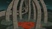 El Diez Colas utiliza sus colas como jaula para la Alianza