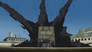 Ola de Arena de Hierro Anime