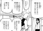 Sakura le aclara a Sarada que son muy importantes para su padre Manga