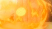 Shisui produces a fireball