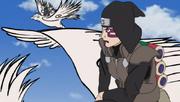 El escuadrón de ataque sorpresa vuela sobre las aves de Sai