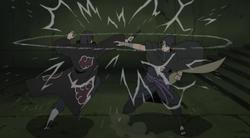 Itachi contro sasuke