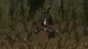 Jutsu Múltiples Clones de Elemento Madera Anime
