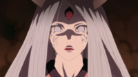 Kaguya crying