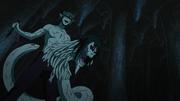 El ADN de Orochimaru como Serpiente Blanca que se implantó Kabuto