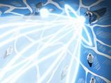 Liberação de Tempestade: Circo de Laser