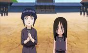 Hanabi e Hinata descobrem que deverão lutar entre si