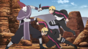 Kakō luta contra Boruto