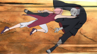 Sakura Attacks Shin