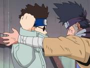 Shino contra Zaku
