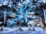 Nareszcie starcie! Jōnin kontra genin!! Niekontrolowane spotkanie turnieju walki wręcz!