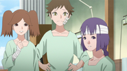 Namida, Wasabi e Sumire no hospital
