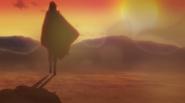 Sasuke caminhando