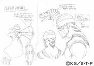 Arte Pierrot - Genin de Suna (Dino & Arco)