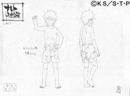 Arte Pierrot - Naruto Cueca