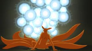 Arte Sabio Grupo de Super Grandes Esferas Giratorias Anime