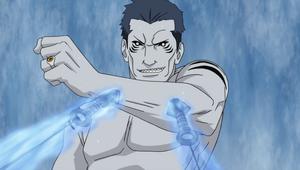 Jutsu Secreto Agujas de Piedra Anime