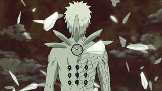 Obito's Jinchuriki Form from behind