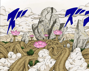 Elemento Madera Advenimiento de un Mundo de Árboles de Flores Manga