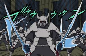 Jutsu Sable de Samurai Manga