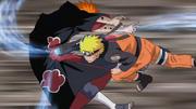 Naruto ayant vaincu Tendô