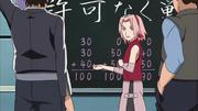 Sakura explicando a lógica do exame