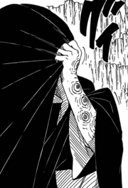 Shin's Father (Arm of Sharingan)