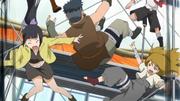 Tsuru, Renga e Nitora perdem