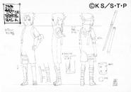 Arte Pierrot - Sasuke (Treino com Shisui)