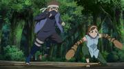 Hōki e enko no exame para genin
