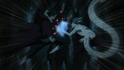Itachi attaque Kabuto et active Izanami
