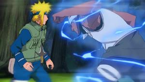 Jutsu del Dios Trueno Volador Anime 2