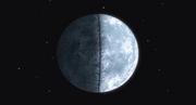 La Luna cortada en Dos