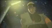 Naruto leyendo el papel de Hinata