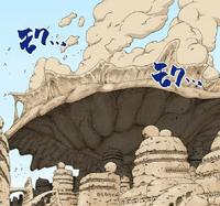 Parede Protetiva de Areia Aérea (Mangá Colorido)