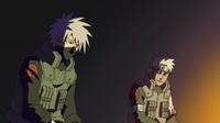 Sakumo and Kakashi speak