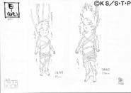 Arte Pierrot - Yamato e Amiga
