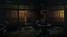Hanabi spys on Hinata