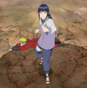 Hinata defende Naruto de Pain