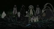 Menma usa a las Nueve Bestias Enmascaradas