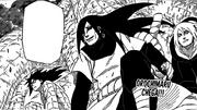 Orochimaru chega