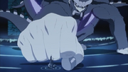 Son Gokū chocando puños con Naruto