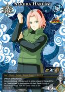 Carta Naruto Storm 3 Sakura