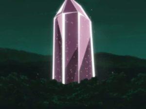 Elemento Cristal Prisión de Cristal Pentagonal