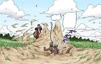 Prisão do Funeral de Areia (Mangá Colorido)