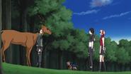 Sai, Sakura e Pakkun encontram Shikamaru