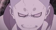 Momoshiki molesto e intimidado luego de que descubrieran su debilidad al Taijutsu