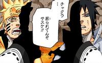 Zetsu Negro absorvendo chakra